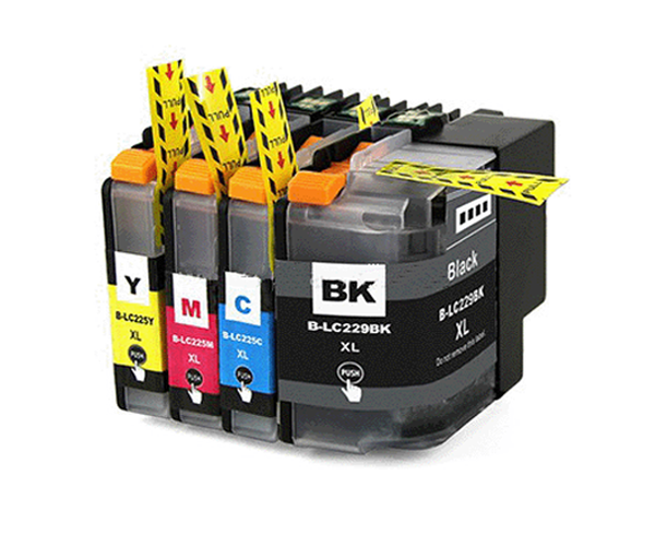 INKJET INKPRO BROTHER LC229XL V.3 NEGRO 2.400 PAG PREMIUM